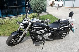 2011' Yamaha Midnight star 950